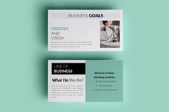 PPT Template | Business Plan - Green and Marble Product Image 3