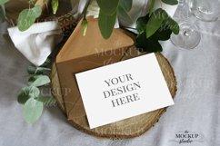 Card Mockup, Wedding Invitation Mockup, Stationary Mockup Product Image 1