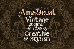 AmaDeust - Display Font Product Image 4