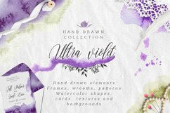 Ultra Violet watercolor collection Product Image 1