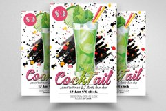 10 Summer Beach Cocktail Party Flyers Bundle Product Image 6
