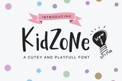 Kid Zone - A cute handritten font Product Image 1
