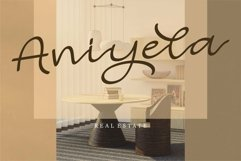 Web Font Arely - Beauty Script Font Product Image 5