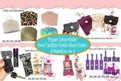 Hand Sanitizer Holder and Mask Holder Bundle 2|Spray Holder Product Image 1