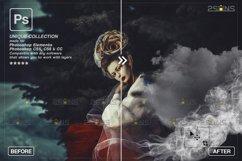 Smoke backgrounds & Smoke bomb overlay, Photoshop overlay Product Image 6