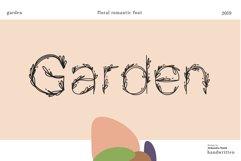Garden floral romantic font Product Image 1