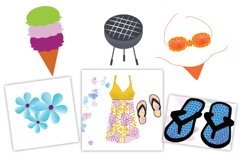 Summer Vacation Clipart Product Image 1