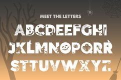 Trick or Treat Silhouette Font Product Image 3