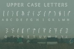 Summer flowers doodle font in ttf, otf Product Image 2