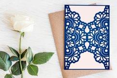 Wedding invitation template, Mandala invitation Product Image 1