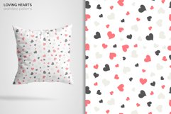 Loving Hearts Seamless Patterns Product Image 2