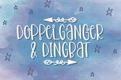 Doppelganger & Dingbat - A Font Duo Product Image 1