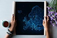 Europe countries futuristic maps. Product Image 12
