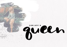 Sassy - A Bold Script Font Product Image 4