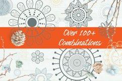 Decorative Paisley Pattern Brushes Product Image 2