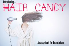 Hair Candy - A Sassy Font for Beauticians Product Image 1