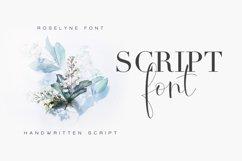 Roselyne Calligraphy Script Font Product Image 2