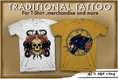 Bundle traditional tattoo design Product Image 4