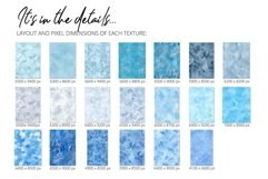 20 Huge Seamless Blue Watercolor Textures Product Image 3