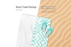 Beach Towel Mockup Product Image 1