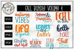 An Exceptionally Huge Fall Bundle | 6 Bundles In 1| 76 SVGs Product Image 6