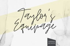 Taylor's Equipage Product Image 1