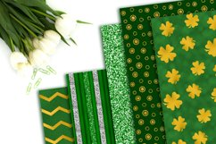 St. Patrick's Day Digital Paper Pack Product Image 3