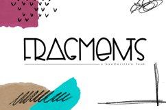 Fragments - A Fun Handwritten Font Product Image 1