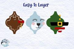 Mega Ornament SVG Bundle 3   Arabesque Christmas Ornaments Product Image 3
