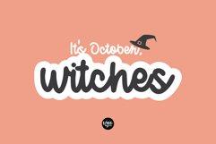 OCTOBER DAYLIGHT a Bold Script Hand written Font Product Image 2