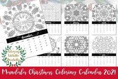 Mandala Christmas Coloring Calendar 2021 Product Image 1