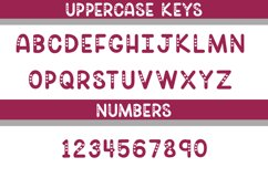 Heart Frame Monogram Font Product Image 3