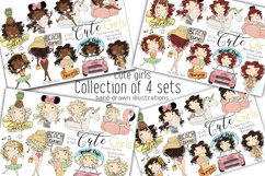 Collection of 4 Sets Girls Summer Product Image 1