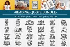 Reading SVG Bundle design set| Book lover SVG Product Image 1
