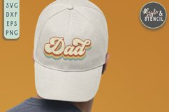 Dad SVG | Fathers Day | Retro Product Image 3