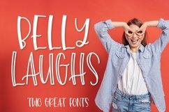 Belly Laughs - A Font Duo Product Image 1