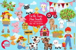 Farm animal clipart, graphics, illustrations AMB-1494 Product Image 1