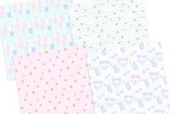 Unicorn Summer Digital Paper Product Image 3