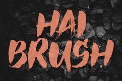 Hai Brush Font Product Image 1