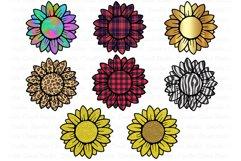 Sunflower PNG Bundle, Design Printable, Sunflower Clipart, Product Image 1