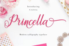 Princella Script | 5 Font Product Image 2