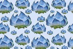Watercolor floral patterns Product Image 4