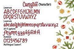 Web Font Cangtiff - fancy Chrismas Font Product Image 4