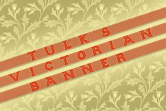 Tulk's Victorian Banner Product Image 2