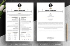 Clean Resume Cv Template in Editable Word Apple Pages Format Product Image 3