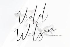Violet Watson - Script Font Product Image 1