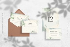 Modest Tropical Invitation Suite Product Image 3
