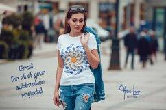 Best Seller! Starburst SVG Mandala Weeding and Sublimation Product Image 2