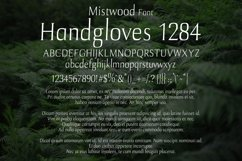 Mistwood Font Product Image 2