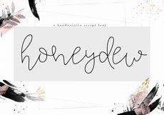 Honeydew - Handwritten Script Font Product Image 1